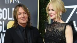 Nicole Kidman emociona a Keith Urban en su discurso de los Golden