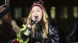Madonna improvise un concert surprise pour Hillary Clinton au beau milieu de New
