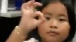 Esta niña se queda con todos en su intento de unirse al 'Dele Alli