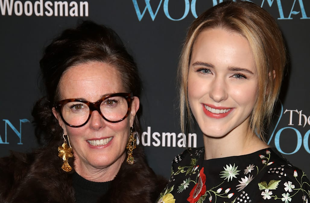 Kate Spade's Hollywood family includes David Spade, Rachel ...