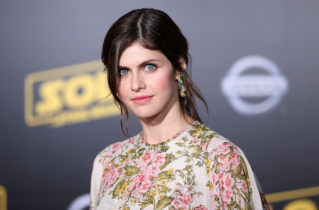 Alexandra Daddario Has The Best Beauty Trick For When Shes Feeling