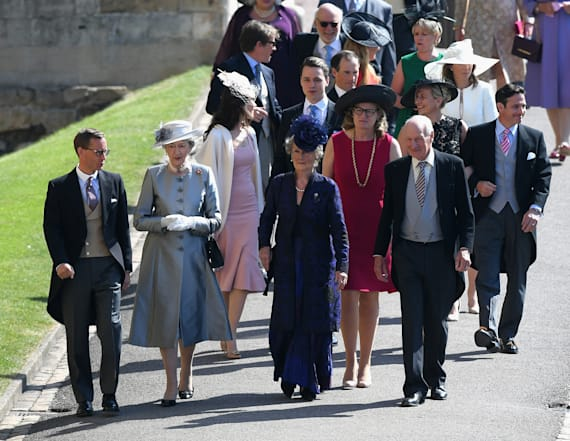 Three royal wedding guests wore the same dress