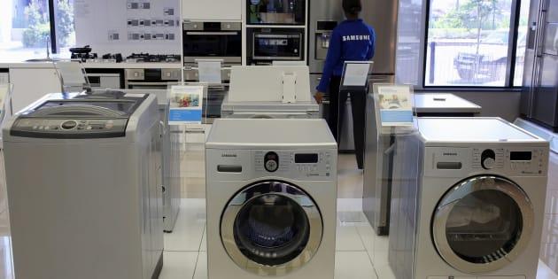 Le couvercle de certaines machines à laver Samsung peut exploser.