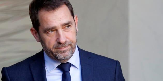 Christophe Castaner, nouveau délégué général de La République en Marche et Secrétaire d'État auprès du Premier ministre, chargé des relations avec le Parlement, à l'Elysée, le 22 novembre 2017.