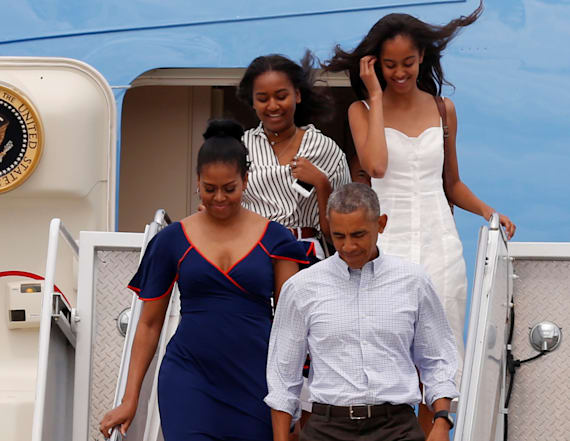 Michelle and Malia once snuck out of the White House