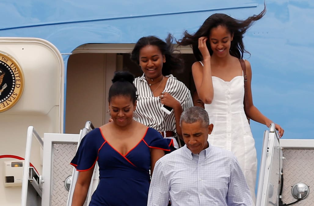 Michelle and Malia Obama once snuck out of the White House