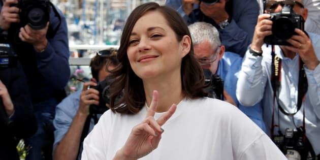 Marion Cotillard à Cannes le 17 mai 2017.
