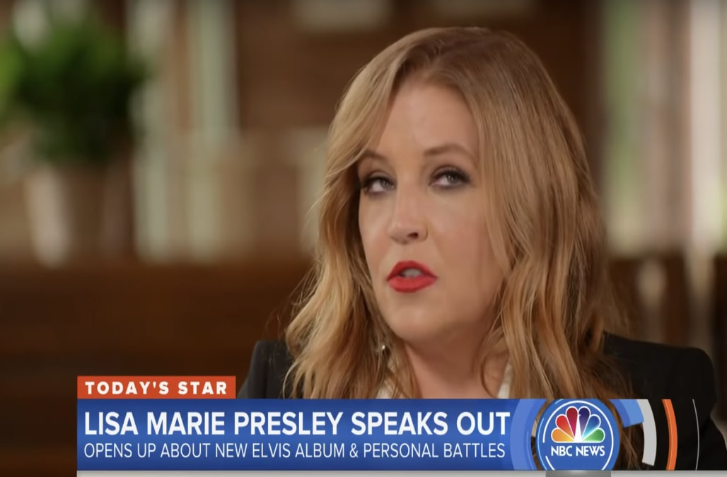 Lisa Marie Presley says her recovery from drug addiction is