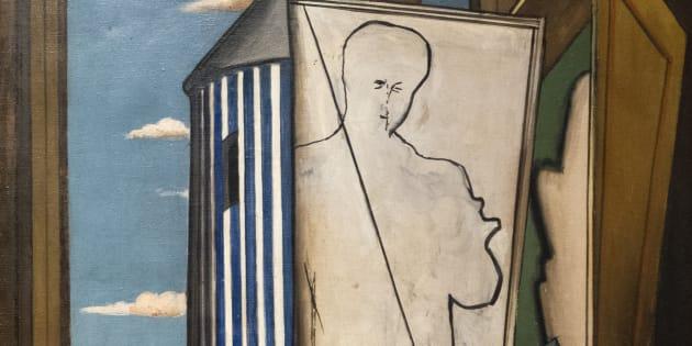 Rubato quadro de Chirico di valore inestimabile dal Museo Béizers