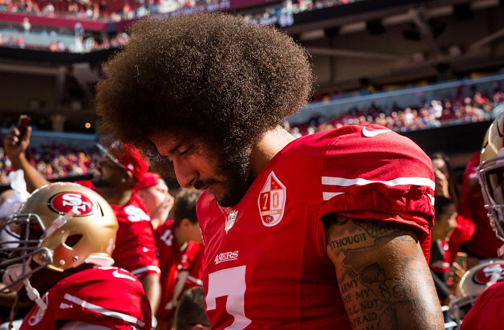 Colin Kaepernick's name was edited out of a song in 'Madden