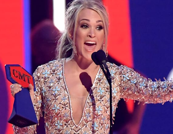 Carrie Underwood makes history at CMT Awards