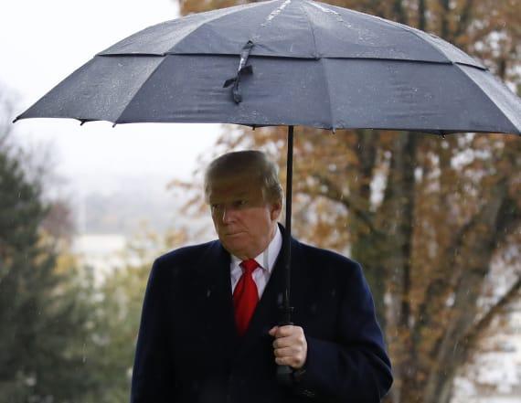 Trump blames Secret Service for not visiting graves