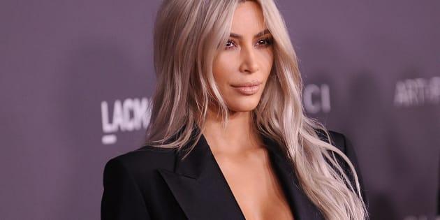 Kim Kardashian le 4 novembre à LACMA Art à Los Angeles.