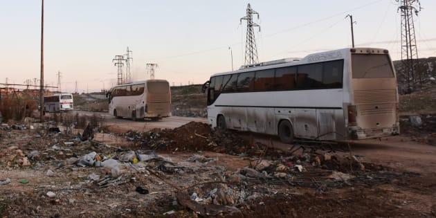 L'ONU trouve un accord sur l'envoi d'observateurs à Alep, ici le 18 décembre