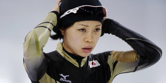 ソチオリンピックに出場した住吉都選手 (RUSSIA - Tags: SPORT OLYMPICS SPEED SKATING)