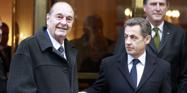 Jacques Chirac et Nicolas (ici en 2011) ont tous les deux été renvoyés en correctionnelle.