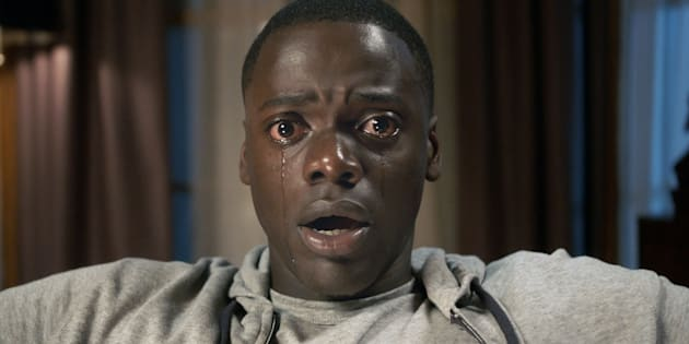 "DANIEL KALUUYA as Chris Washington in ""Get Out,"" a speculative thriller from Blumhouse (producers of ""The Visit,"" ""Insidious"" series and ""The Gift"") and the mind of Jordan Peele, when a young African-American man visits his white girlfriend's family estate, he becomes ensnared in a more sinister real reason for the invitation."