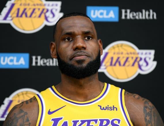 LeBron: LA has 'long way to go' to catch Warriors