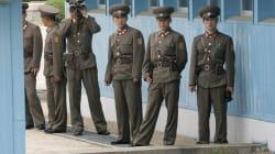 北朝鮮の兵士、銃撃を受けながら韓国に亡命 板門店の軍事境界線を越える