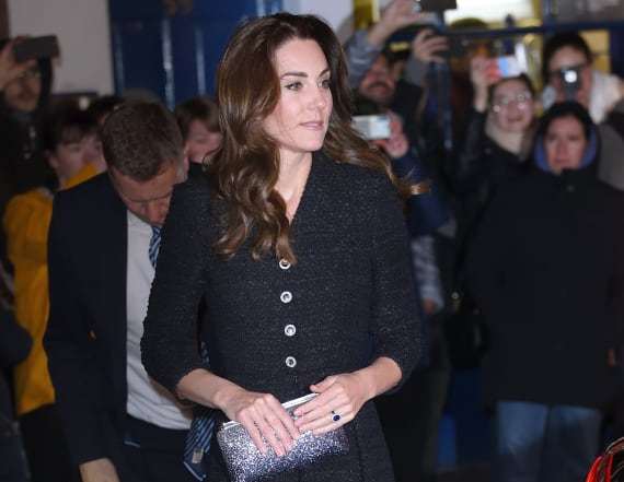 Kate and William step out for night at the theater