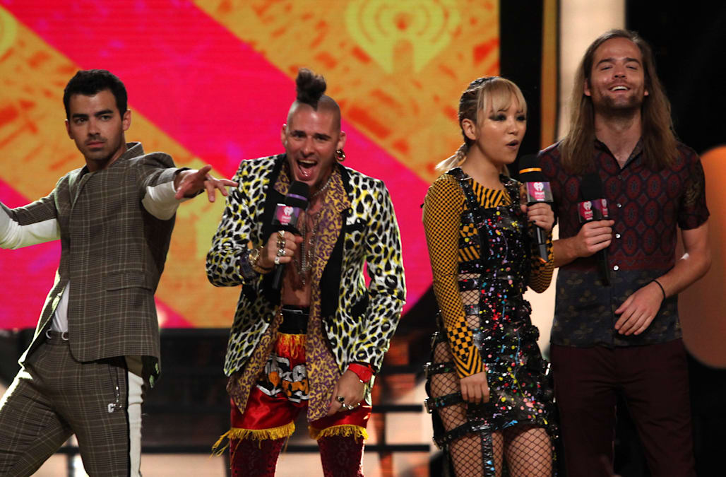 DNCE Talks Performing Total Eclipse Of The Heart With Bonnie Tyler During Solar