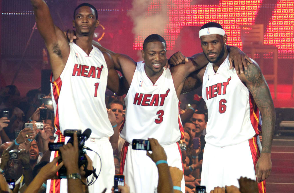 WHERE ARE THEY NOW? The players from LeBron James' Miami ...