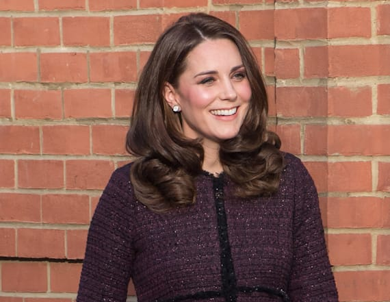 Duchess Kate rocks festive Seraphine coat