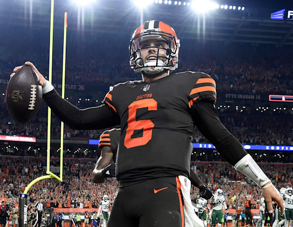 Cleveland Browns win first game since 2016