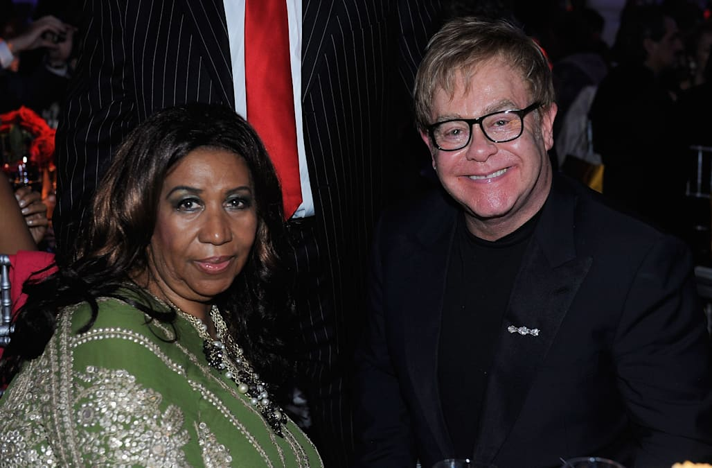 Image result for sir elton aretha