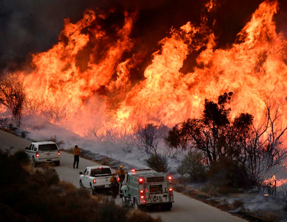 Governor: California faces 'new normal' of wildfires
