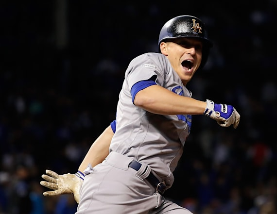 Los Angeles Dodgers clinch World Series berth