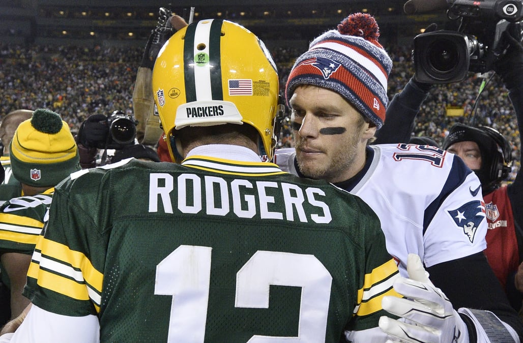 This Tom Brady Quote About Aaron Rodgers Is Going Viral Aol News