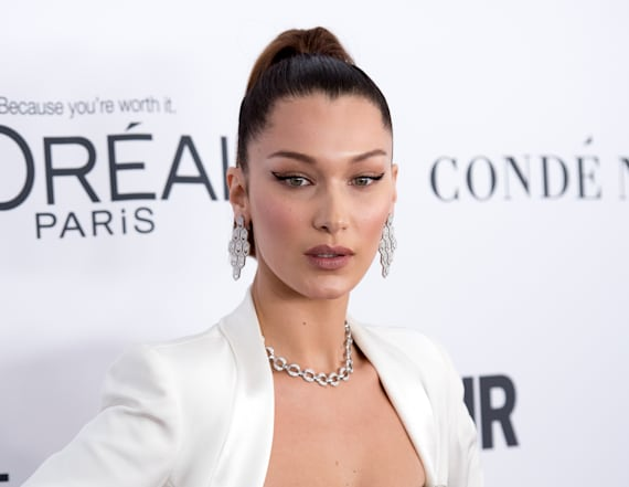 Bella Hadid shares pics from VS Fashion Show venue