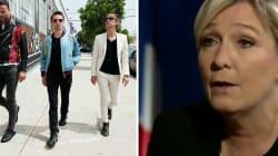 Comment Marine Le Pen s'est retrouvée à chanter dans un clip de