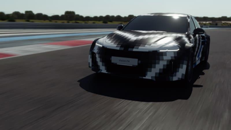 Hyundai stellt wasserstoffbetriebenen Sportwagen Vision FK mit 671 PS vor€