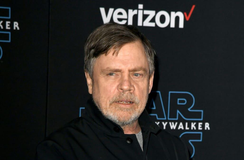 How Mark Hamill kept this year-long 'Star Wars' secret