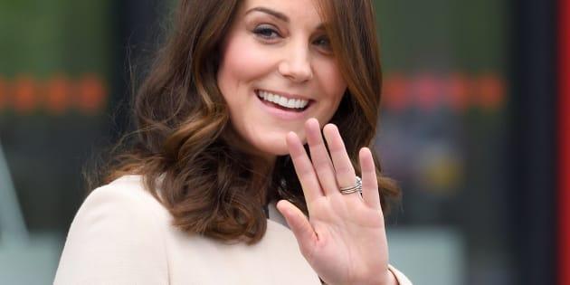 La duchesse de Cambridge le 22 mars à Londres.