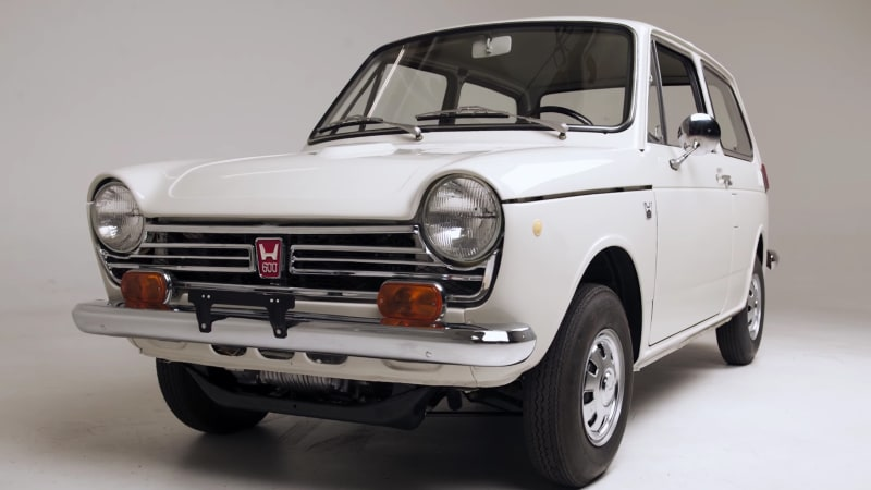 watch the very first honda n600 be brought back to life. Black Bedroom Furniture Sets. Home Design Ideas