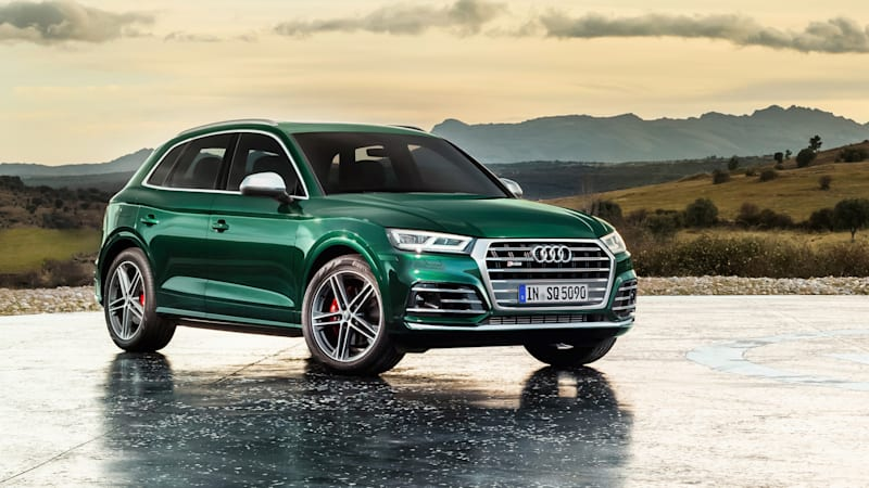 Audi SQ5 TDI is a performance diesel crossover we won t get