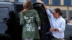 Melania ataca a Trump con su forma de vestir porque