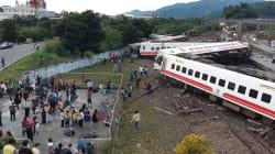 台湾の列車、カーブで脱線。少なくとも18人死亡、168人が負傷
