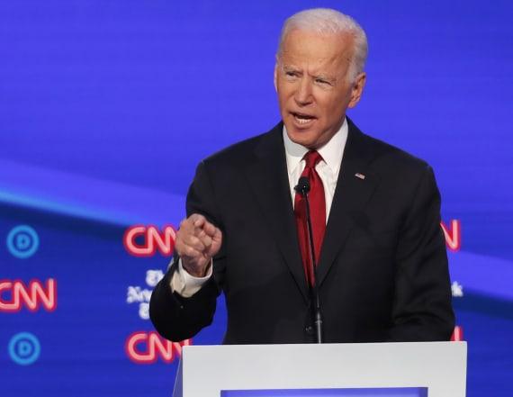 Biden defends his son over Trump's Ukraine claims