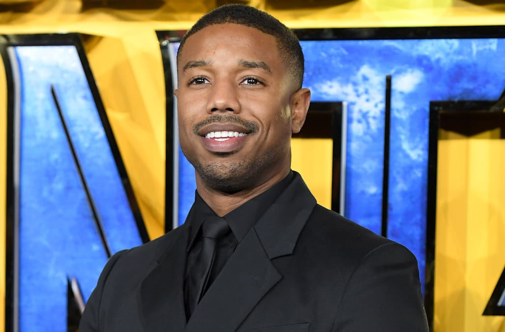dcd5f617e07a15 Michael B. Jordan on the potential downside of  Black Panther  being so  hyped up