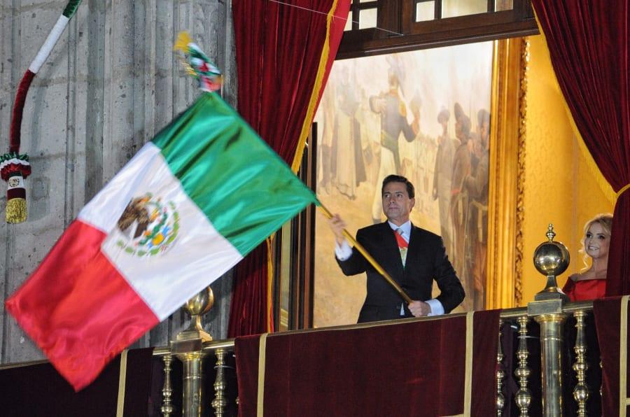 Enrique Peña Nieto nunca viajó algún año a Dolores, Hidalgo, la cuna de la independencia para encabezar esta ceremonia.