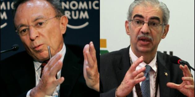 Izquierda: Guillermo Ortiz. Derecha: Santiago Levy.