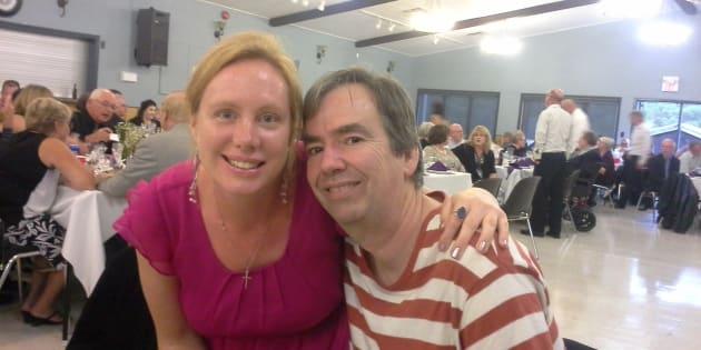 Jennifer et son fiancé Grant