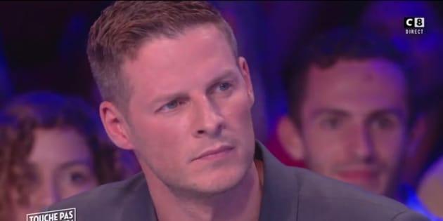 """Matthieu Delormeau lors d'une émission de """"Touche Pas à Mon Poste""""."""