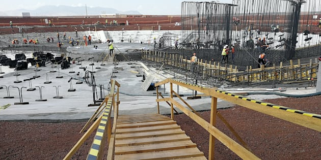 Obras del nuevo Aeropuerto