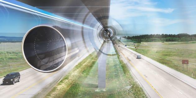 Un train Hyperloop subsonique bientôt à l'essai dans le Limousin.