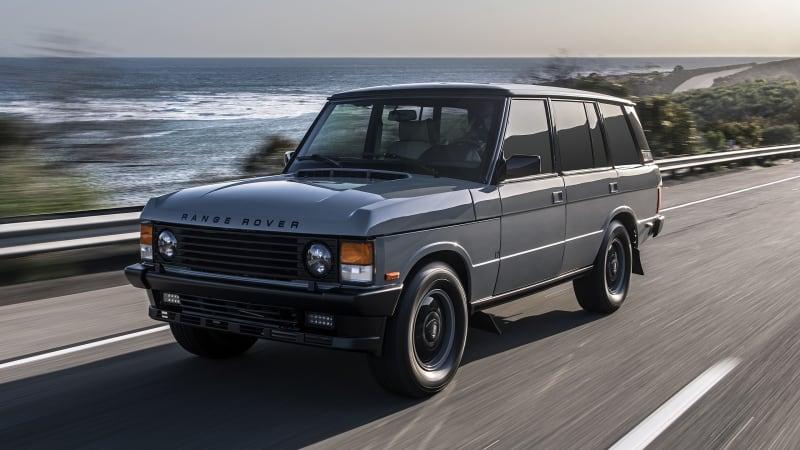 ECD Range Rover Classic restomod road test review | Autoblog